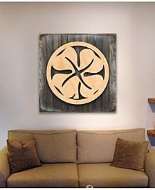 Celtic Wood Box Sign