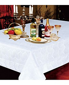 Princess Zig Zag Vertical Stripes Tablecloths