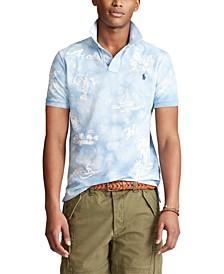 Men's Classic-Fit Hawaiian Polo Shirt