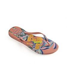 Women's Slim Summer Flip Flops