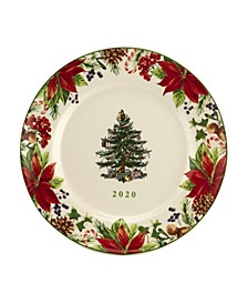 Christmas Tree Annual Collector Plate