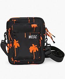 Men's Palm-Print Crossbody Bag
