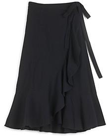 Kira Wrap Midi Skirt