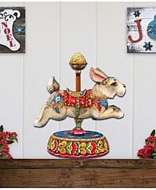 Carousel Bunny Decor