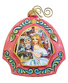 Hand Painted Nutcracker Scenic Ornament