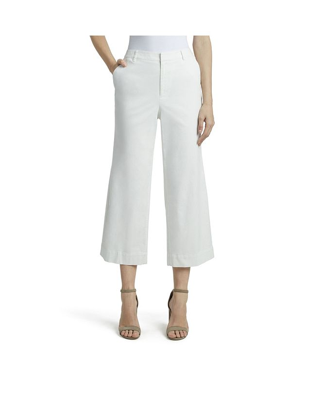 Jones New York Women's Riley Wide Leg Chino