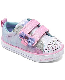 Toddler Girl's Twinkle Toes Shuffle Lites - Sweet Supply Stay-Put Closure Casual Sneakers from Finish Line
