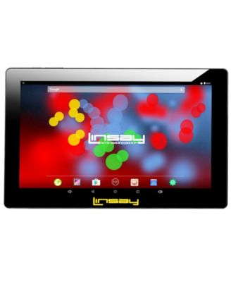 "LINSAY 10.1"" 1280 x 800 IPS Screen Quad Core 2 GB Ram Tablet 16 GB Android 6.0 Dual Camera"