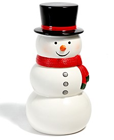 Snowman Figural Cookie Jar, Created for Macy's