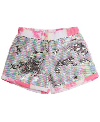 GUESS Girls Big Woven Stripe Short