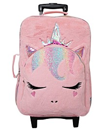 Girls Queen Miss Gwen Plush Luggage