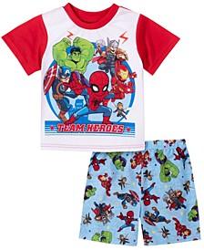 Avenger Toddler Boy 2 Piece Pajama Set