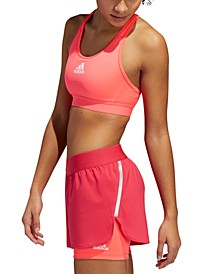 Women's Don't Rest Alphaskin Medium-Impact Racerback Sports Bra