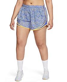 Plus Size Tempo Icon Clash Running Shorts