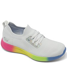 Women's Bobs Sport Squad 2 - Rainbow Rider Casual Athletic Sneakers from Finish Line