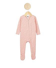 Baby Girl The Snug Long Sleeve Zip Romper