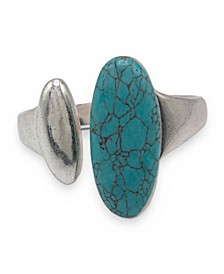 Sculptural Hinged Bangle Bracelet