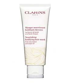 Nourishing Fortifying Hair Mask with Shea Butter and Argan Oil