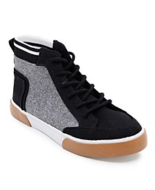 Big Boys Varsity Mid-Top Casual Boot