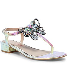 Aidann Embellished Flat Sandals