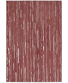 """Vibes VB1 Red 5' x 7'6"""" Area Rug"""