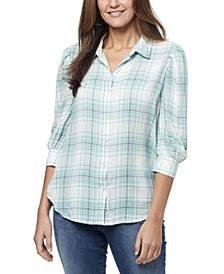 Women's Romi Pleated Sleeve Shirt