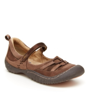 Emmie Women's Casual Sporty Mary Jane Flats Women's Shoes