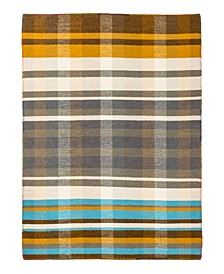 Dutch GG108 Brown 9' x 12' Area Rug