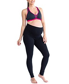 Yoga Pumping Nursing Bra Maternity Leggings Set