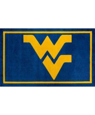 "West Virginia Colwv Blue 3'2"" x 5'1"" Area Rug"