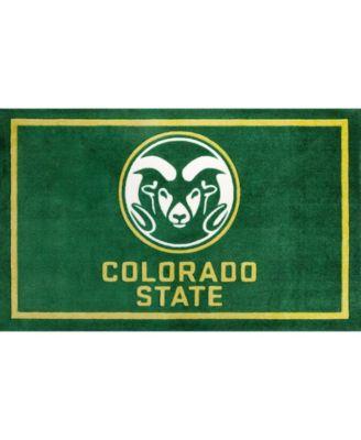 "Colorado State Colcs Green 1'8"" x 2'6"" Area Rug"