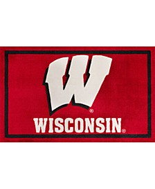 "Wisconsin Colws Red 3'2"" x 5'1"" Area Rug"