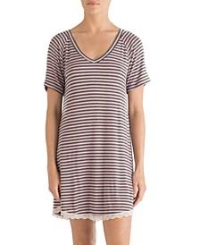 Lace Trim Sleepshirt Nightgown