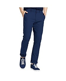 Men's Slim Fit Flat Front Chino