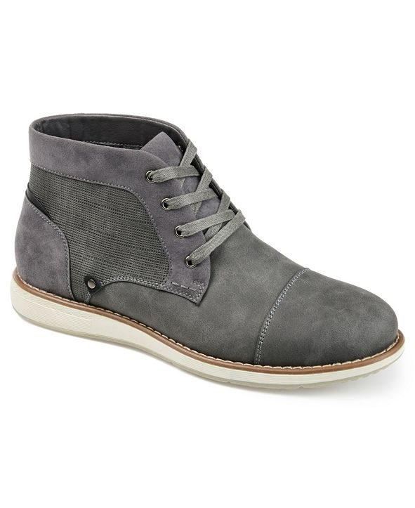 Vance Co. Austin Men's Cap Toe Chukka Boot