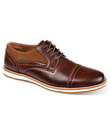 Vance Co. Griff Men's Cap Toe Brogue Derby Shoe