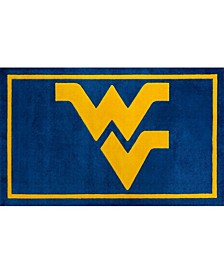 West Virginia Colwv Blue Area Rug