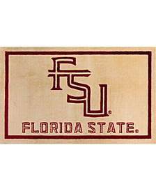 Florida State Colfs Gold Area Rug