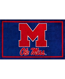 Ole Miss Colms Navy Area Rug