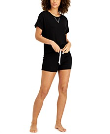 Women's Ultra-Soft Pajama Short Set, Created for Macy's