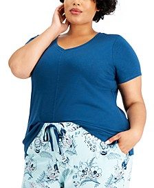 Plus Size Pajama Top, Created for Macy's