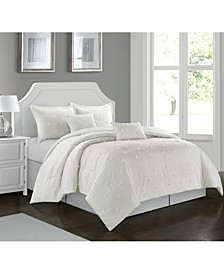 Rome 6 Piece Comforter Set, Queen