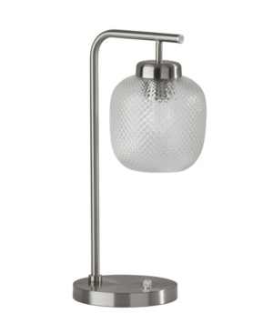 Add an eye-catching table lamp to your bedroom or living space with the Vivian desk lamp. This lamp body and base, this lamp is a high-end solution to provide lighting and modern decor to any space. Bulb is not included.