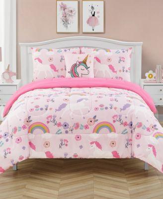 Unicorn Dance Twin 5 Piece Comforter Set