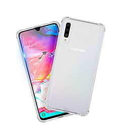 Protection Pack Tough Clear Case Plus Glass Screen Protector for Samsung Galaxy A70