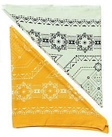 Traditional Square Bandana Set, 2 Pack