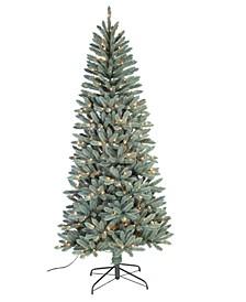 "7.5"" Blue Spruce Slim Tree"
