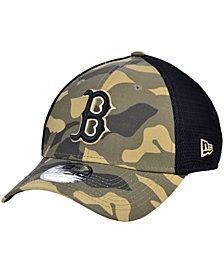 New Era Men's Boston Red Sox Camo Neo 39THIRTY Cap