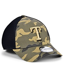 Texas Rangers Camo Neo 39THIRTY Cap