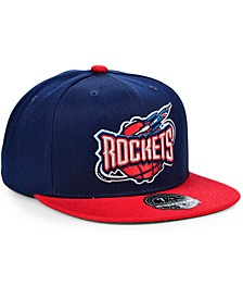 Houston Rockets Wool 2 Tone Fitted Cap